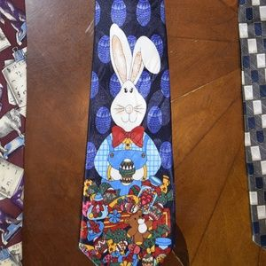 Fratello Handmade Easter Bunny Neck Tie